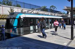 Sydney Metro - Metro trains at Cherrybrook (3) (john cowper) Tags: sydneymetro cherrybrook openday visitors trains metrosydneynorthwest transportfornsw infrastructure alstom suburbs sydney newsouthwales australia