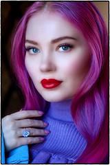Doe. (drpeterrath) Tags: portrait people popular model actress celebrity entrepreneur woman lady female girl color lipstick eyes eyelashes eyelashextensions captureone