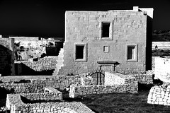 Cittadella (albireo 2006) Tags: blackwhitephotos blackandwhite blackandwhitephotos blackwhite bw bn gozo malta cittadella house facade
