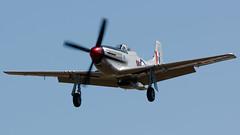 NZ2415, North American P-51D Mustang, Napier, Hawkes Bay, NZ - 16/2/19 (Grumpy Eye) Tags: nikon d7000 nikkor 300mm 28 nz2415 north american p51d mustang napier art deco airshow