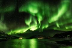 Northern light (emmanuelbernard1) Tags: northern light aurora borealis aurore boréale norway norvège tromso senja