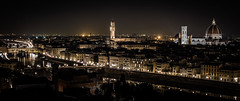 Best city view (Matthew Johnson1) Tags: palazzovecchio 2019 cityscape exploring february florence italy night outdoors vista longexposure starburst canon building church pontevecchio duomo townhall towers bridge colour river historical
