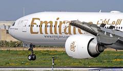 A6-ECM LMML 05-03-2019 Emirates Boeing 777-36NER CN 37703 (Burmarrad (Mark) Camenzuli Thank you for the 17.2) Tags: a6ecm lmml 05032019 emirates boeing 77736ner cn 37703