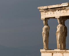 Karyatide (Michael Hew) Tags: karyatide athen acropolis greece weather sunbeam sun