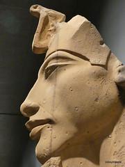 Akhenaten (Amenhotep IV), Luxor Museum (2).JPG (tobeytravels) Tags: thebes egypt amonispleased aten usefulforaten newkingdom sandstone eastkarnak
