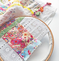 beading an edge (contemporary embroidery) Tags: beading embroidery fiberart fibreart sewing textiles surfacedesign