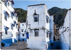 480- AZUL Y BLANCO - XAUEN - MARRUECOS - (--MARCO POLO--) Tags: calles rincones ciudades marruecos exotismo curiosidades