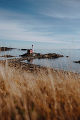 The Lighthouse (Top KM) Tags: lighthouse canada british columbia bc landscape travel explore historic historical tourism no person nobody outdoors daylight sky recreation landmark building architecture 500px landscapes exploration old site architectural water shore shoreline coast coastline