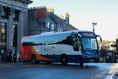 53640 KX61GEJ Stagecoach Bluebird (busmanscotland) Tags: 53640 kx61gej stagecoach bluebird kx61 gej volvo b9r plaxton panther megabus megabuscom north scotland