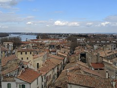 View from Coliseum tower, Arles, France (gruntzooki) Tags: arles provence france coliseum roofs