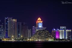 Doha Snapshot ... (Bijanfotografy) Tags: fuji fujifilm fujixt2 xtrans mirrorless doha dohaqatar qatar cornichedoha corniche view skyline dohaskyline buildings middleeast gulf arabiangulf architecture skyscrapers fujifilm50230mm
