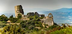 Château d'Aumelas (Cyril Ribault) Tags: aumelas hérault occitanie france ruine eglise clocher donjon castellas pentax kr tamron tamronaf18200mmf3563xrdiiildasphericalif