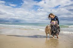 Fotos para Esther #20 (Héctor Rodríguez Maciá) Tags: sanjuan alicante españa spain playa mar costa mediterráneo arena embarazo embarazada perro