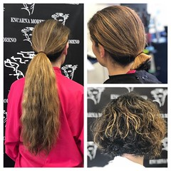 vxz2 (Haarfert) Tags: longhair shorthair blonde brunette shave headshave beauty hairstyle makeover wavy curls curly ponytail braid cut haircut chop
