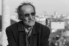 Oldman (K.BERKİN) Tags: turkey tourism human oldcity oldman people portrait alpha sony6300 sonyalpha life istanbul city blackwhite balat mirroless man
