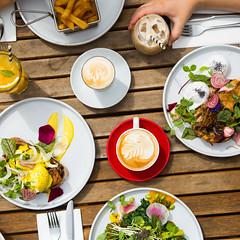 _22A8316 (Jono Cowan) Tags: cafe food melbourne coffee brunch yolk egg breakfast latte