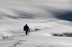 Cacciatore di immagini (ANNA ALESI) Tags: casere predoi altoadige fotografo neve italia inverno valleaurina