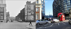 York Road`1949-2019 (roll the dice) Tags: london se1 waterloo lambeth old surreal vanished demolished sad mad beds hotel windows local history retro bygone architecture streetfurniture changes collection nostalgia comparison oldandnew pastandpresent hereandnow uk classic art urban england people fashion stthomashospital advertising posters culture council grade2 listed nhs bourjois gillette fairy rail bus taxi viaduct travel transport dirty chmimney cars lights thames