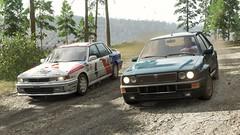 Forza Horizon 4 Mitsubishi Galant WRC & Lancia Delta (crash71100) Tags: forza horizon 4