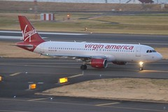 N636VA (LAXSPOTTER97) Tags: virgin america alaska airlines airbus a320 a320200 n636va cn 3460 aviation airport airplane kpdx