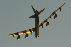 B52s at RAF Fairford (Nick Collins Photography, Thanks for 3.6 million v) Tags: boeing b52h stratofortress flying military canon 7dmk2 sunset usaf usa raf fairford