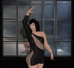 Dancing with a stranger. (FireFliesBlogger) Tags: mesh meshbody bento bentobody bentopose hair clothing trinity foxcity backdropcity sexy stealthic genusproject genus maitreya