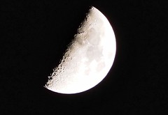 Moon Friday 12 April 2019 at 22.19 (Artybee) Tags: moon friday 12 april w019 lincolnshire woodhall spa roughton moor first quarter 41