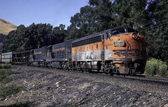 A Little Rough (ac1756) Tags: westernpacific wp emd f7a 918 fremont california