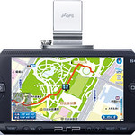 PSP「プレイステーション・ポータブル」専用地図ソフトウェアの写真