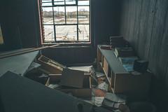 Messy Office (IAmTheSoundman) Tags: jake barshick sony a99 m42 takumar manualfocus cleveland ohio urbanexploring urbex abandoned