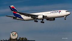 PT-MOD LATAM Airlines Brasil Boeing 767-300 (José M. F. Almeida) Tags: spotting lisboa lisbon lis lppt aircrafts airplane airport airlines airways aircraft ptmod latam brasil boeing 767300