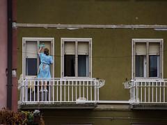 Fenster putzen (ingrid eulenfan) Tags: bardolino italien italy italia gardasee haus architekturarchitecture window fenster arbeit work