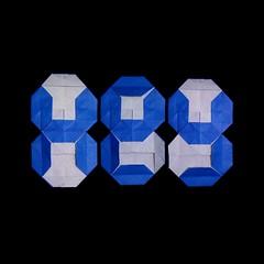 Hey (guangxu233) Tags: paper art paperart origami origamiart fold paperfolding 折纸 折り紙 折り紙作品