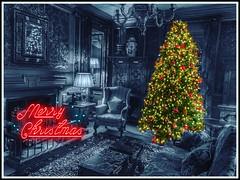 Merry Christmas (FotoFling Scotland) Tags: christmas edinburgh merrychristmas
