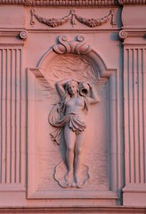 The Dying of the Light (richardr) Tags: twilight hotel woman female sculpture brightonandhove brighton eastsussex sussex building architecture england english britain british greatbritain uk unitedkingdom europe european old history heritage historic