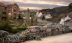 Staithes lobster pots (Glenn Birks) Tags: staithes lobster pots north yorkshire eastengland