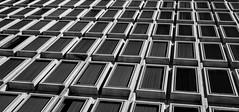 Abstract #15 [Explored] ©2018 Steven Karp (kartofish) Tags: abstract monochrome angle windows philadelphia pennsylvania fuji fujifilm xt2 cityhallannex pattern grid