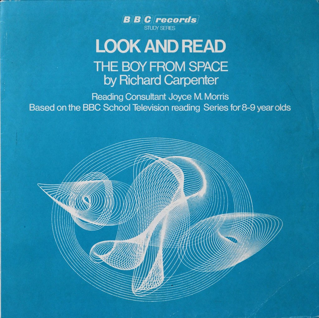 Picture of RESR 30 Look and read - The boy from space  by artist Richard Carpenter from the BBC albums - Records and Tapes library