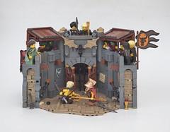 Ilesole Arena (W. Navarre) Tags: lego ilesole saga arcassan wym
