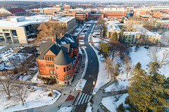 2019 - January - CHS - Snowy Winter Break Sunday-152-HDR.jpg (ISU College of Human Sciences) Tags: building winter forker campus buildings foodsciencebuilding morrill snow lagomarcino ringoflife campanile scenic palmer fshn chs mackay beauty