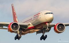 Air India B777 (Ramon Kok) Tags: 777 777200lr 77l ai aic airindia boeing boeing777 boeing777200lr egll easternperimeterrd easternperimeterroad england gb greatbritain heathrow heathrowairport lhr london londonheathrow londonheathrowairport uk unitedkingdom vtalg