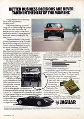 1977 Jaguar XJ 4.2 Six & 5.3 V12 Saloon Aussie Original Magazine Advertisement (Darren Marlow) Tags: 1 2 3 4 5 6 7 9 19 77 1977 x j xj jaguar 42 53 l litre s six v v12 saloon car c cool collectible collectors classic luxury a automobile vehicle e english england b british britain 70s