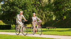 AdobeStock_174195640 (LittletonAdvertising) Tags: active adult age aged basket beautiful bicycle bicyclist bike biking concept couple cycle cycling date dating elderly family fixedgear fixie flower freetime happy husband leisure lifestyle man mature old outdoors park pensioner people person retired retirement retro ride riding road senior smiling sport summer summertime talking together vintage wife woman