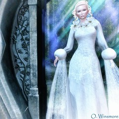 Siss Boom : Vintage Princess - Group Gift (Ombrebleue Winsmore) Tags: sissboom gown princess formal long fashion couture