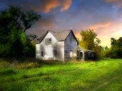 Abandoned 15 (mrbillt6) Tags: landscape rural prairie house abandoned grass sky trees outdoors country countryside northdakota summer