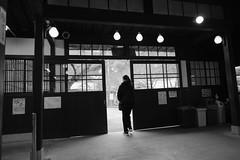 station (ababhastopographer) Tags: kyoto kurama station eiden eizandensha morning winter acros 京都 鞍馬 駅 叡電 叡山電車 eizanrailway 冬 朝 graytones