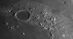 20190214 17-57 Plato & Vallis Alpes (Roger Hutchinson) Tags: moon plato vallisalpes space astronomy astrophotography craters london celestronedgehd11 asi174mm powermate televue