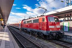 111 055-0 DB Regio Nürnberg Hbf 31.01.19 (Paul David Smith (Widnes Road)) Tags: 1110550 db regio nürnberg hbf 310119 br111