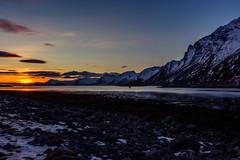 Lofoten sunset (webeagle12) Tags: nikon d7200 europe nature earth planet mountains norway lofoten islands artic bay snow winter coast sunet ice