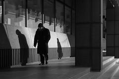 Eldon Street (cybertect) Tags: 12broadgate broadgate carlzeissplanart50mmf14mm cityoflondon ec2 eldonstreet london londonec2 sonya7ii blackwhite blackandwhite monochrome shadow street